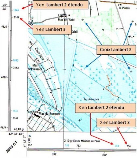 Bel comprendre une carte ign - Distance en milles nautiques entre 2 ports ...